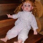 Интерактивная кукла Оля