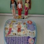 Набор в сумочке из 3 кукол Mattel