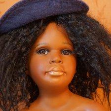Редкая афроамериканочка от известного мастера Келли Руберт, Kelly Rubert