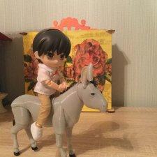 Шарнирный ослик для малышей Obitsu 11
