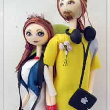 Путешествие длиною в жизнь. Текстильные куклы из фоамирана