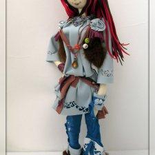 Моя Варвара.Кукла из ткани