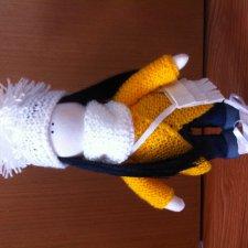 Интерьерная текстильная кукла ручной работы малышка Соня