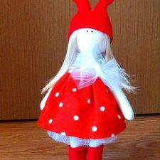 Интерьерные текстильные куклы ручной работы