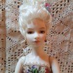 Фарфоровая кукла Рококо от Маргариты Цветковой