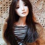 Фарфоровая кукла от Юлии Рожневой