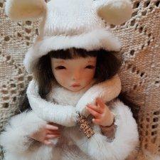 Фарфоровая кукла от Кудряшовой Олеси
