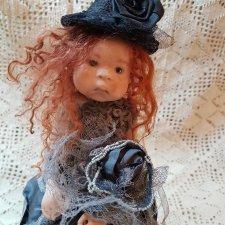 Фарфоровая кукла от Groothedde Nel
