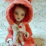 Фарфоровая кукла Лисичка от Зубковой Елены