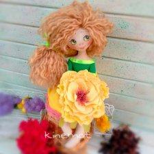 Мои цветики. Куклы из ткани