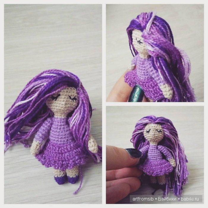 Девочка Мила, вязание крючком