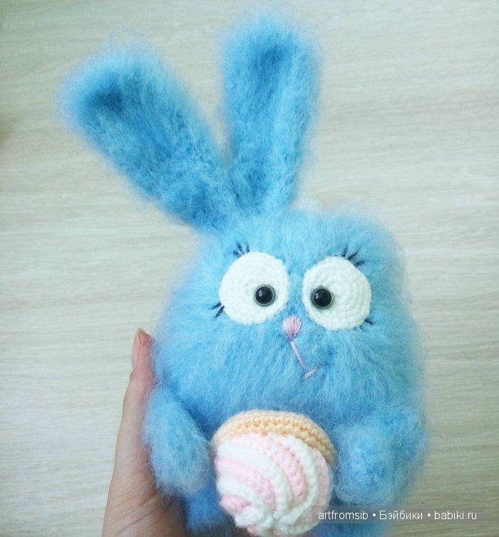 Кролик, вязание крючком