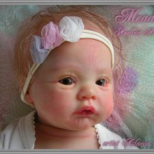 виниловая кукла реборн Meadow