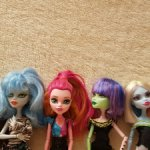 Monster high Гулия и другие