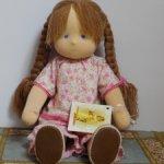Детская игровая кукла (Вольдорфская кукла)