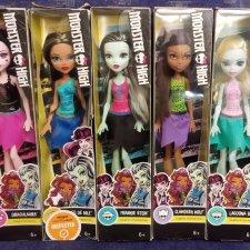 monster high куклы бюджетные-клео,лагуна,фрэнки,клодин,лора Американский релиз