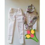 Продам белый джинсовый костюм