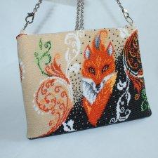 Шикарная сумочка из бисера