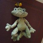 Текстильная игрушка от автора- Квакля