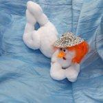 Баба снежная очень нежная