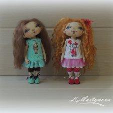 Давайте знакомиться. Авторские текстильные куклы