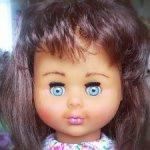 миловидная кукла ГДР
