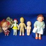 мини куколки СССР И ГДР