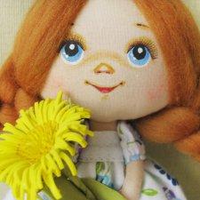 Мои кукляшки-малышки. Авторские куклы из ткани
