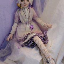 Текстильная кукла Настенька
