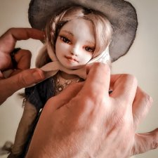 Текстильная кукла Лада