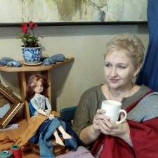 Ира Семенюк. Авторские текстильные куклы