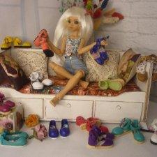 Обувь для девочек 27 см. Atelier Momoni ( Сомни, Рейра, Китти, Момонита...)
