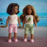 Летние обновочки для American girl mini, Lore.