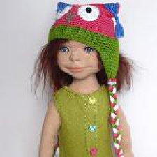 Куклы из шерсти. Девочка Николь