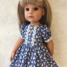 Платье для кукол Готц.