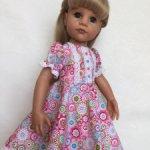 Распродажа. Платье для кукол Готц