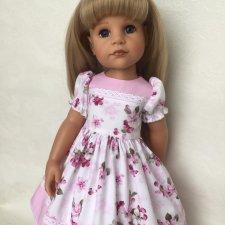 Платье на куклу Готц