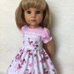 Платье для девочек Готц.