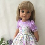 Платье для девочек Готц