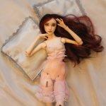 Авторская шарнирная кукла, Таня.