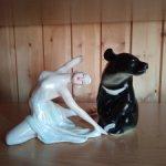 Балерина и медведь