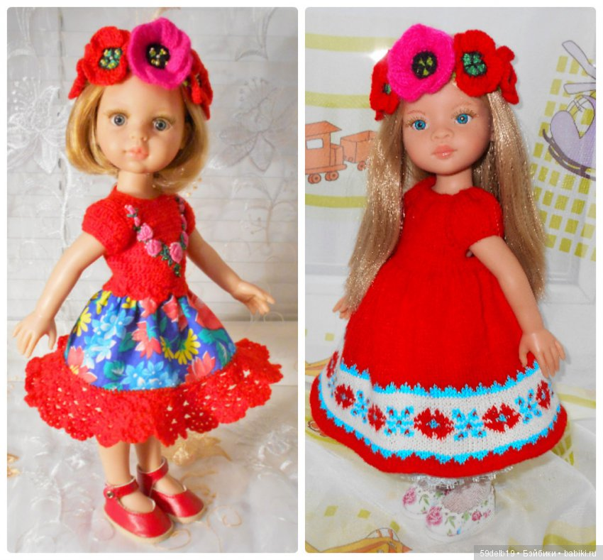 одежда для кукол Паоло Рейна своими руками