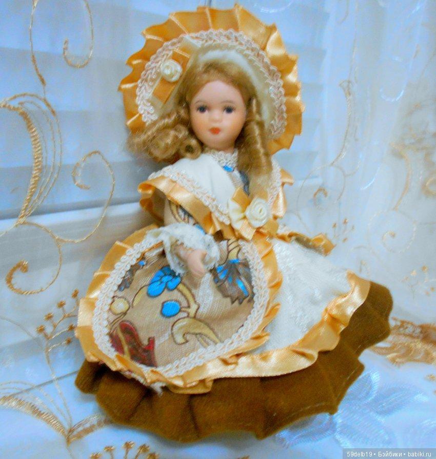 Фарфоровая куколка, Китай