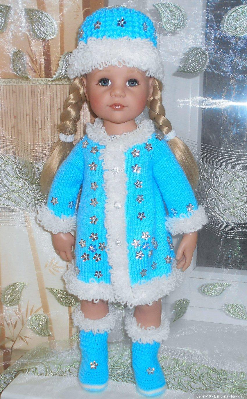 Одежда Для ГОТЦ, вязаная одежда для кукол