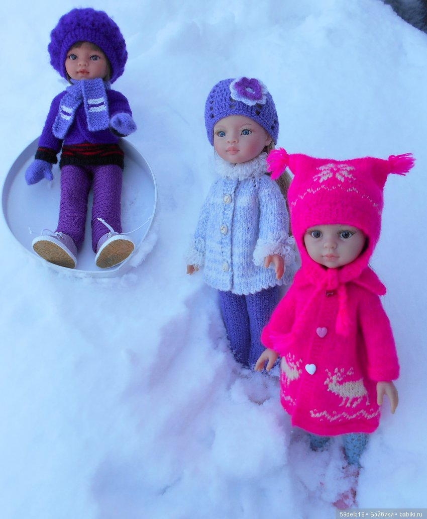 Кулы Паоло Рейны, одежда для кукол
