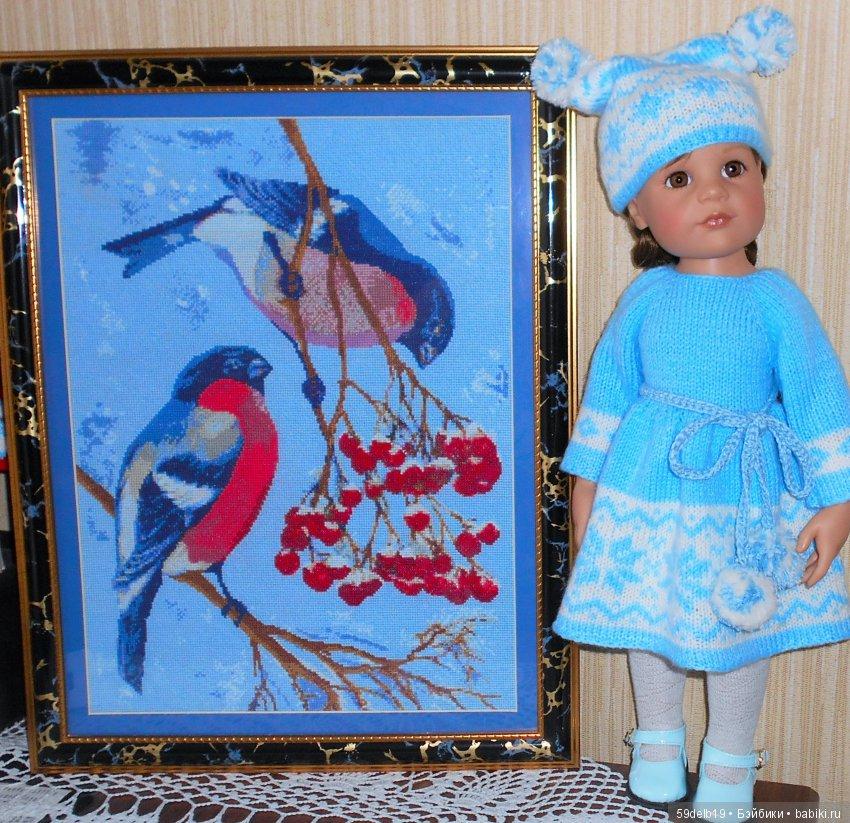 Картины крестиком, одежда для кукол на заказ