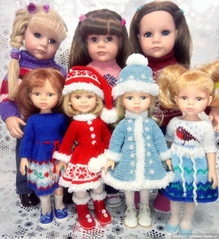 Одежда для кукол Паоло Рейна, ручная работа