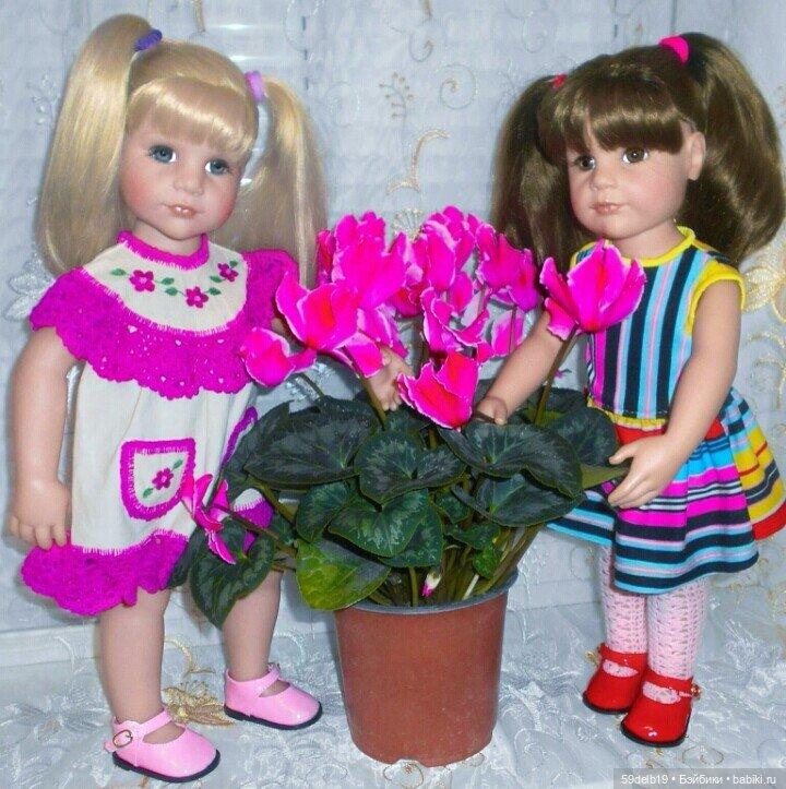 Вязаная одежда для кукол в наличии и на заказ
