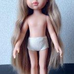 Кукла паола рейна Рапунцель Карла  34 см НЮД волосы до пяточек