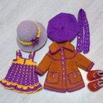 Комплект одежды с обувью на кукол паола рейна. Доставка бесплатная.